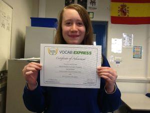 Natalie from Whitham Accrington Academy